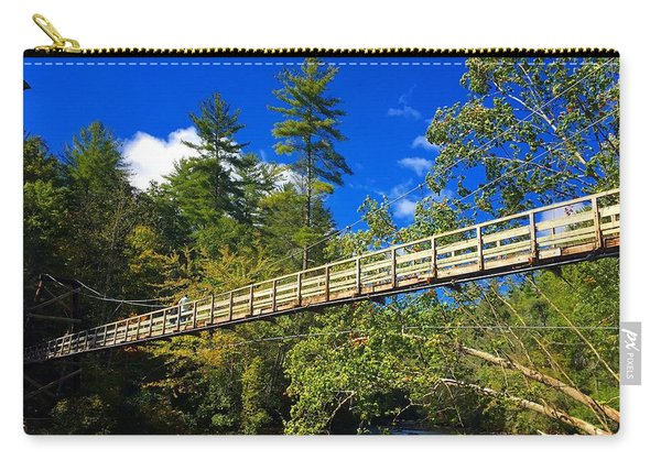 Toccoa River Swinging Bridge Carry-all Pouch