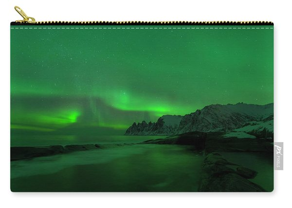 Swirling Skies And Seas Carry-all Pouch