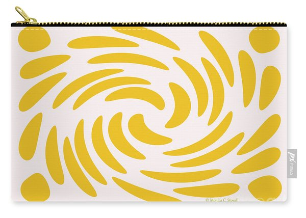 Swirls N Dots S3 Carry-all Pouch
