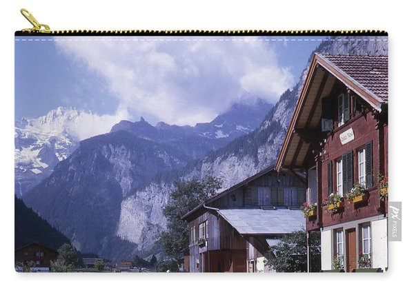 Swiss Town Carry-all Pouch
