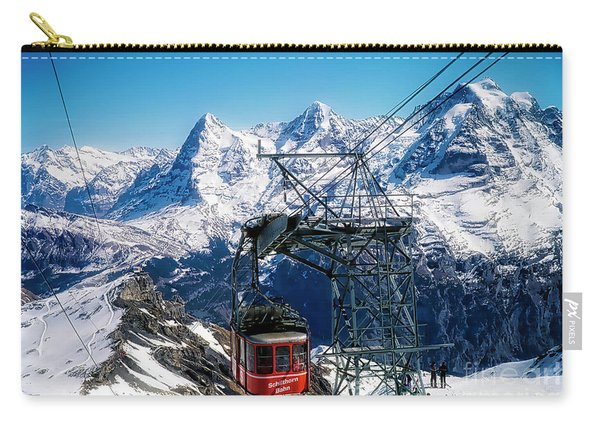 Switzerland Alps Schilthorn Bahn Cable Car  Carry-all Pouch