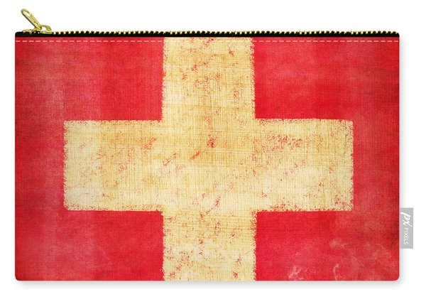 Switzerland Flag Carry-all Pouch