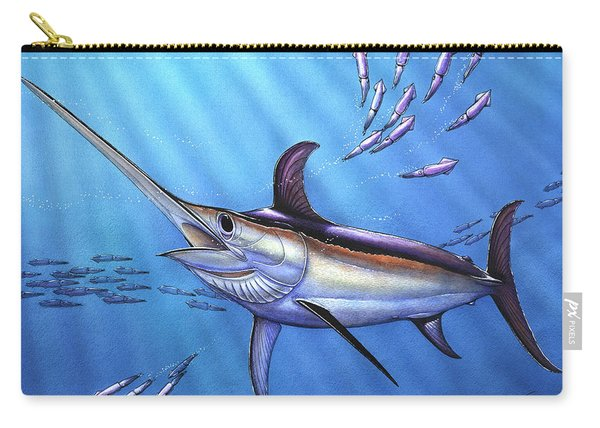 Swordfish In Freedom Carry-all Pouch