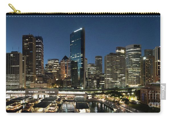 Sydney Circle Quay Skyline Carry-all Pouch
