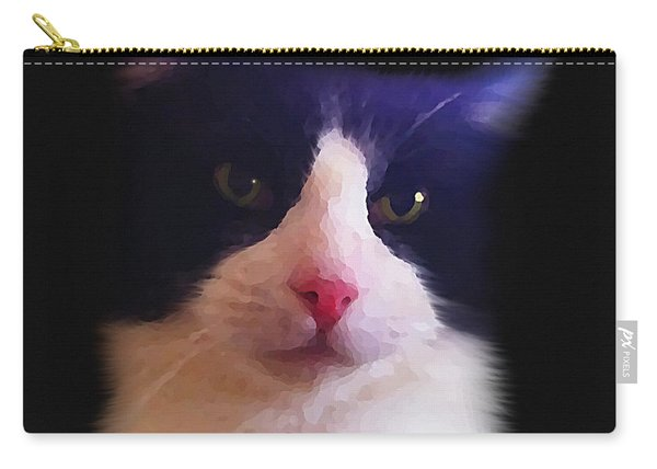 Sylvester Tuxedo Cat Carry-all Pouch