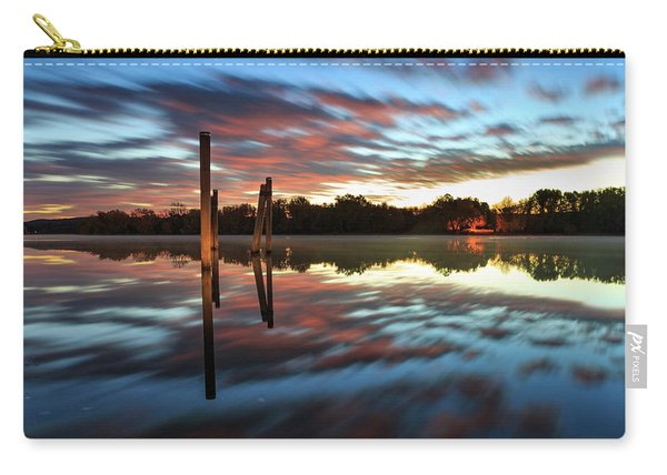 Symetry On The River Carry-all Pouch