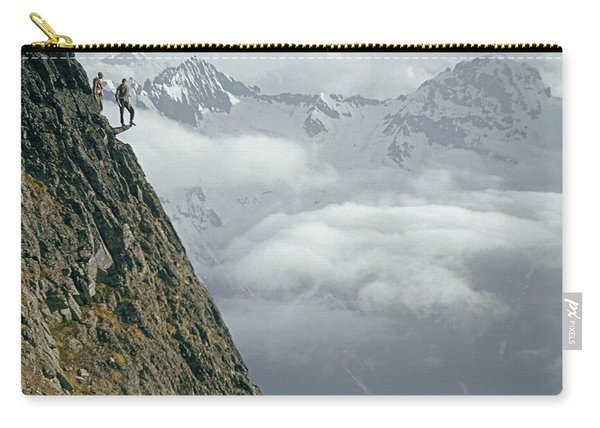 T-404101 Climbers On Sleese Mountain Carry-all Pouch