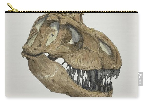 T. Rex Skull 2 Carry-all Pouch