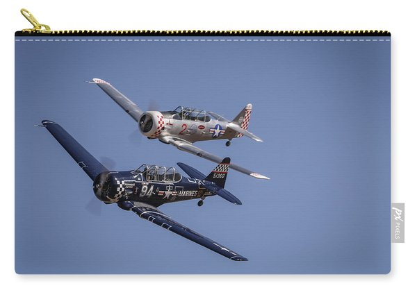 T6s At Reno Air Races Carry-all Pouch