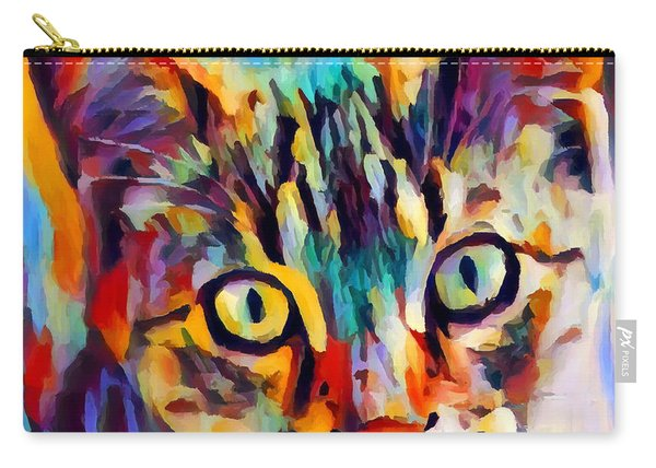 Tabby Portrait Carry-all Pouch