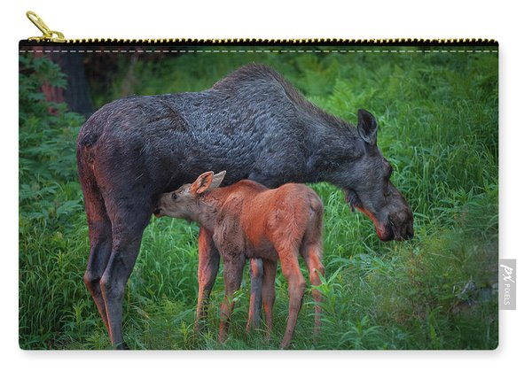 Carry-all Pouch featuring the photograph Table For Two by Tim Newton