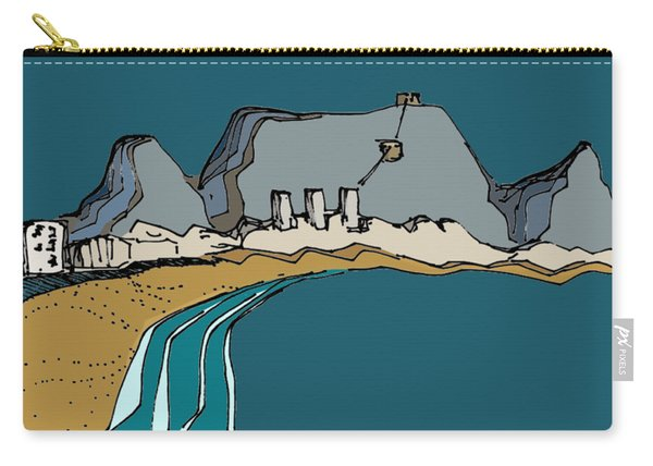 Table Mountain Carry-all Pouch