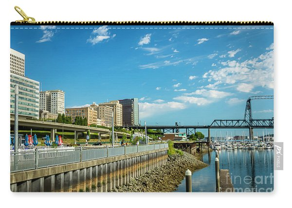 Tacoma And 11th Street Bridge Carry-all Pouch