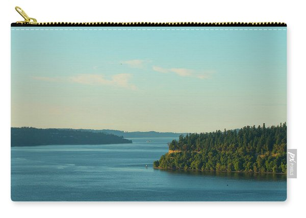 Tacoma Narrows And Commencement Bay II Carry-all Pouch