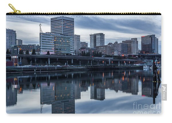 Tacoma Waterfront,washington Carry-all Pouch