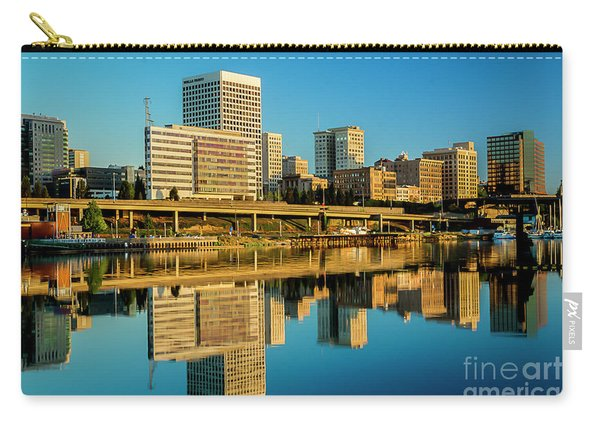 Tacoma's Waterfront,washington Carry-all Pouch