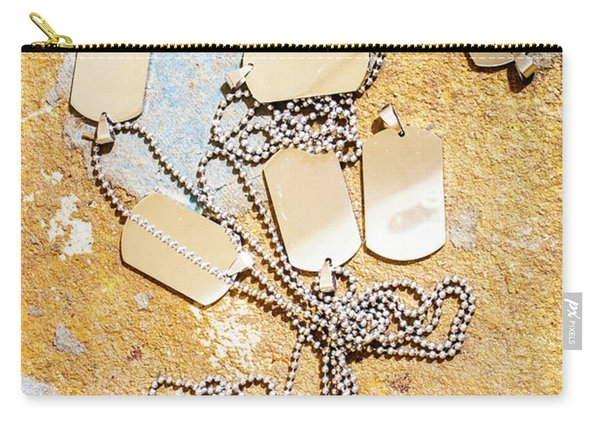 Tags Of War Carry-all Pouch
