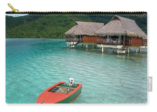 Tahitian Boat Carry-all Pouch