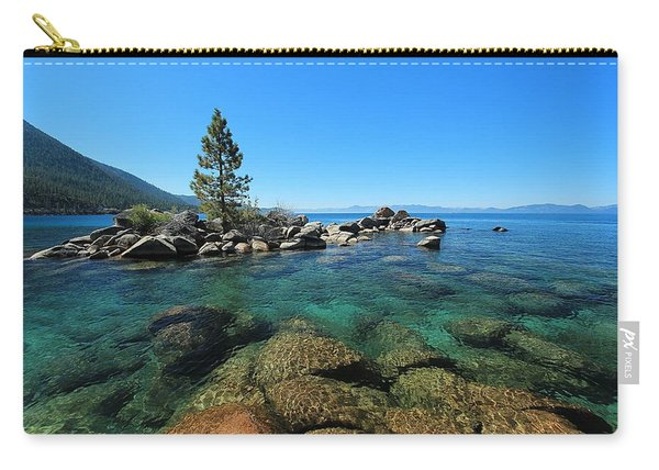 Carry-all Pouch featuring the photograph Tahoe Northern Island  by Sean Sarsfield