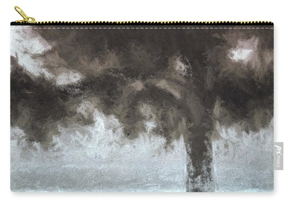 Tahoe Pine Painterly Effect Carry-all Pouch
