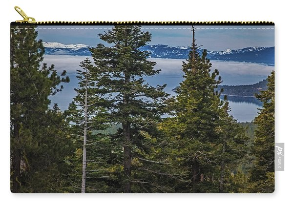 Tahoe Though The Fog Carry-all Pouch