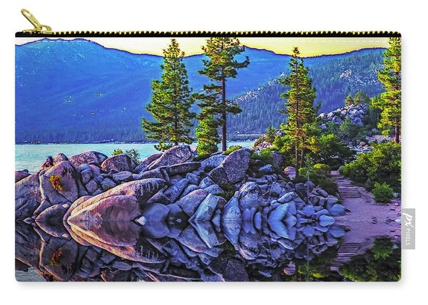 Tahoe Water Reflections Carry-all Pouch