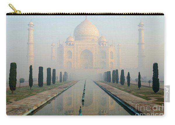 Taj Mahal At Sunrise 02 Carry-all Pouch