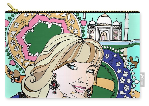 Taj Mahal Memories Carry-all Pouch