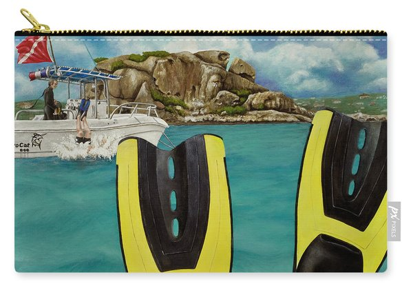 Take Me To Creole Rock Carry-all Pouch