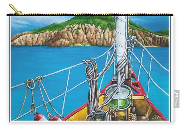 Take Me To Saba Carry-all Pouch