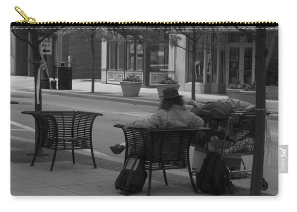 Carry-all Pouch featuring the photograph Taking It Easy by Michael Colgate