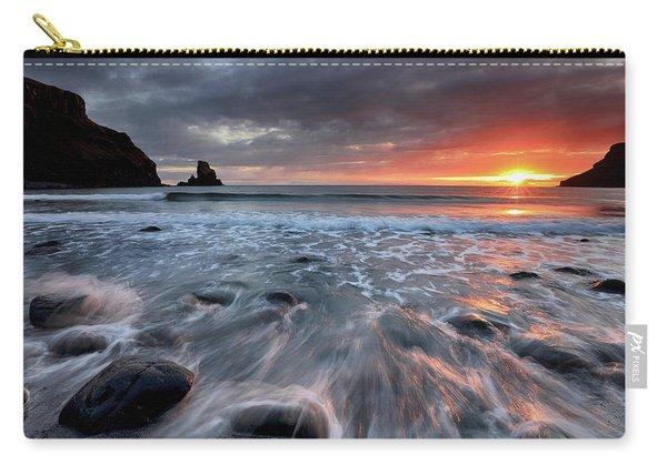Talisker Bay Rocky Sunset Carry-all Pouch