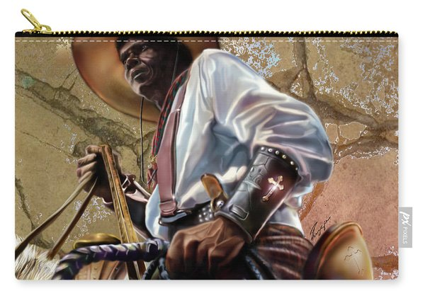 Tall In The Saddle Cowboy Pride 1a Carry-all Pouch
