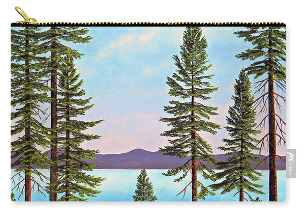 Tall Pines Of Lake Tahoe Carry-all Pouch