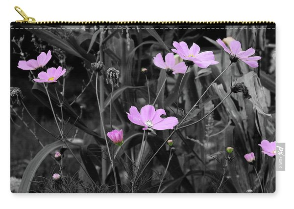Tall Pink Poppies Carry-all Pouch