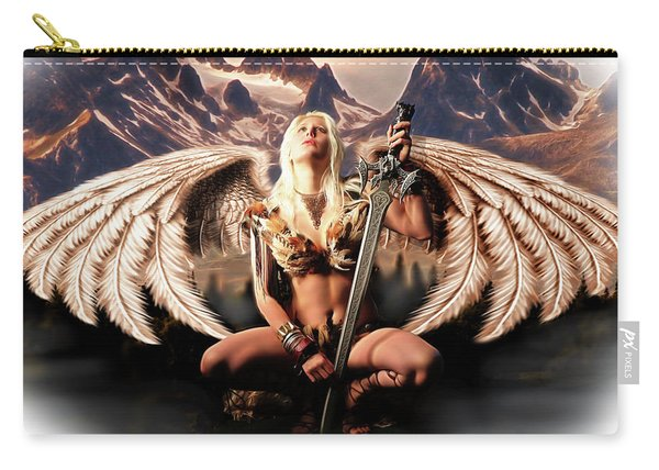 Talon Of The Hawk Woman Carry-all Pouch