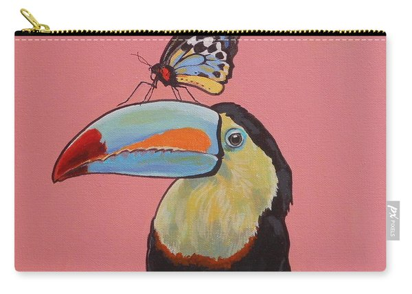 Talula The Toucan Carry-all Pouch