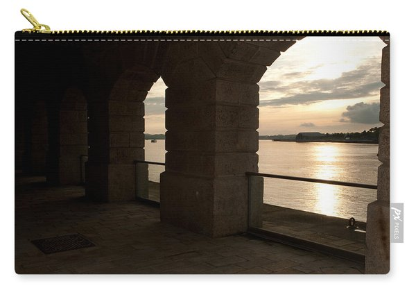 Tamar Estuary Sunset Carry-all Pouch