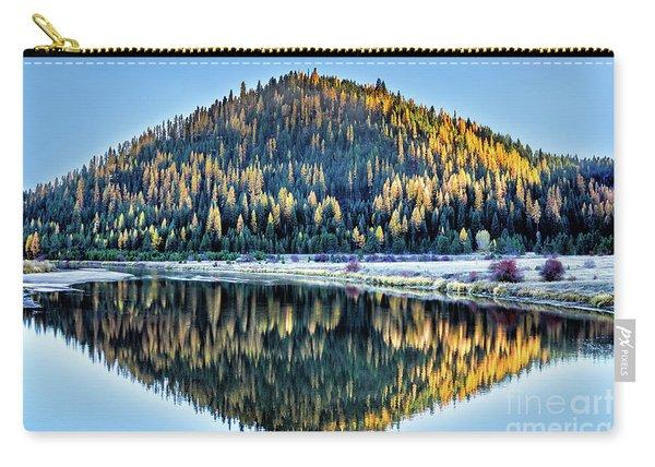 Tamarack Glow Idaho Landscape Art By Kaylyn Franks Carry-all Pouch
