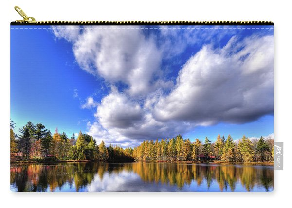 Tamarack Reflections In The Adirondacks Carry-all Pouch