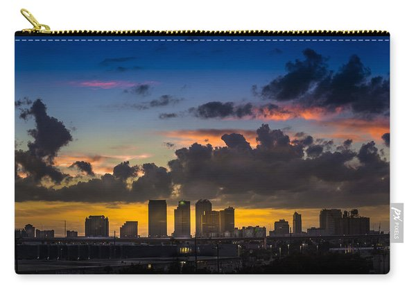 Tampa Sunset Carry-all Pouch