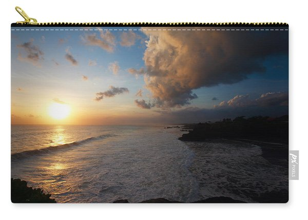 Tanah Lot Sunset Carry-all Pouch