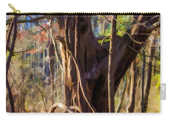 Tangled Vines On Tree Carry-all Pouch