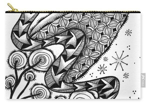 Tangled Serpent Carry-all Pouch