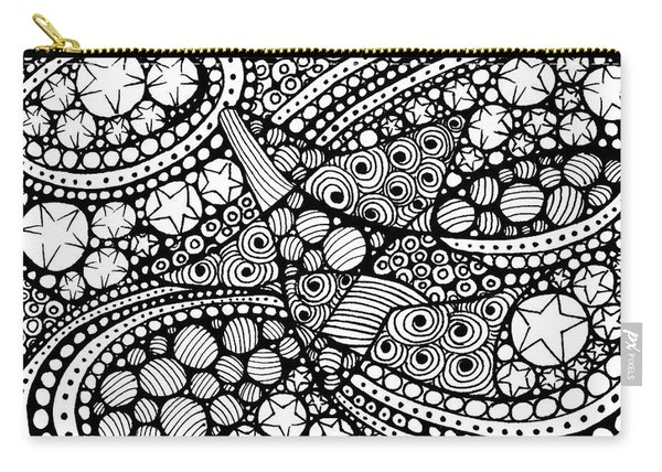 Tangled Stars  Carry-all Pouch