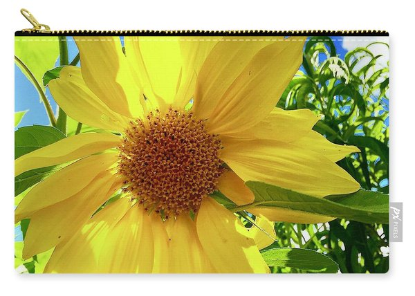 Tangled Sunflower Carry-all Pouch