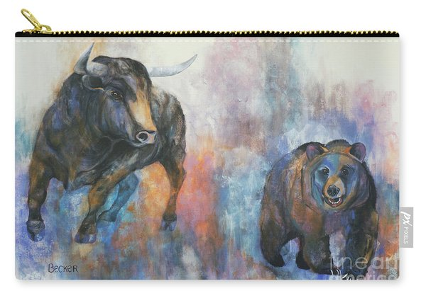 Tango On Wall Street Carry-all Pouch