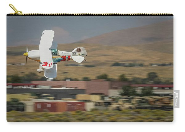 Carry-all Pouch featuring the photograph Tango Tango 5x7 Aspect by John King