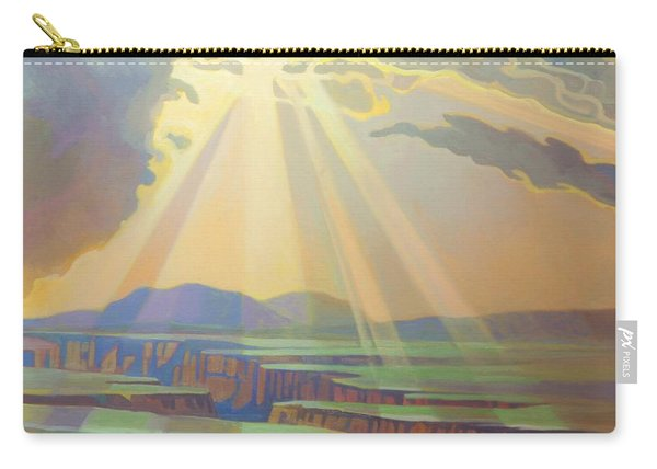 Taos Gorge God Rays Carry-all Pouch
