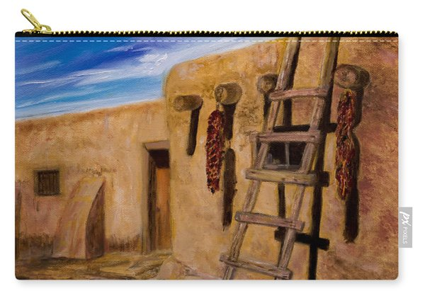 Taos,adobe Living Carry-all Pouch